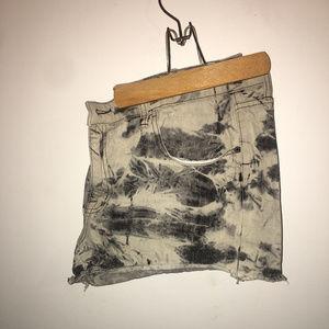 Mossimo acid wash shorts sz18 NWOT